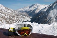 Óculos de proteção do esqui Imagem de Stock