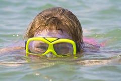 Óculos de proteção do mergulho Fotografia de Stock Royalty Free