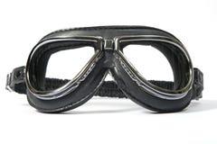 Óculos de proteção do piloto fotografia de stock royalty free