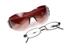 Óculos de proteção e especs. Foto de Stock Royalty Free