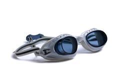 Óculos de proteção para a natação fotos de stock