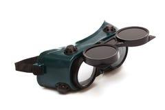 Óculos de proteção para a soldadura Fotografia de Stock