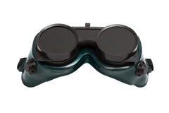 Óculos de proteção para a soldadura Foto de Stock