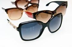 Óculos de sol à moda fotografia de stock royalty free