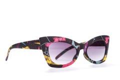 Óculos de sol à moda isolados em um fundo branco Foto de Stock Royalty Free