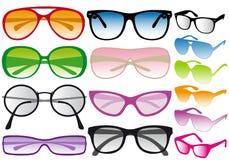 Óculos de sol,   ilustração royalty free