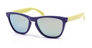 Óculos de sol coloridos isolados no branco Fotografia de Stock Royalty Free