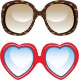 Óculos de sol da forma Fotografia de Stock Royalty Free