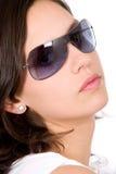 Óculos de sol da mulher da forma Foto de Stock Royalty Free