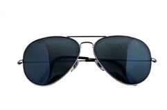 Óculos de sol do aviador imagens de stock royalty free