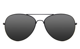 Óculos de sol do aviador imagem de stock royalty free