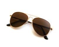 Óculos de sol do aviador foto de stock