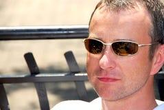 Óculos de sol do homem Imagem de Stock Royalty Free