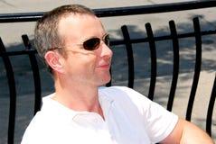 Óculos de sol do homem Fotos de Stock Royalty Free