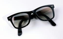 Óculos de sol - dobrados fotografia de stock