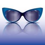 Óculos de sol dos olhos de gato Imagem de Stock Royalty Free