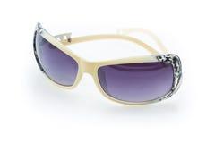 Óculos de sol em um estilo retro imagem de stock