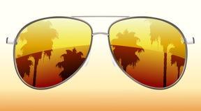Óculos de sol frescos ilustração royalty free