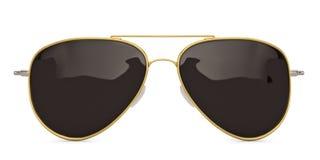 Óculos de sol isolados na ilustração branca do fundo 3D ilustração royalty free