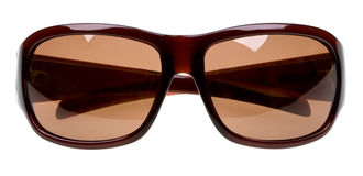 Óculos de sol isolados no branco imagem de stock