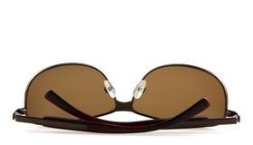 Óculos de sol isolados no fundo branco fotografia de stock