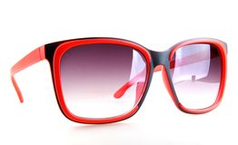 Óculos de sol isolados no fundo branco imagem de stock royalty free