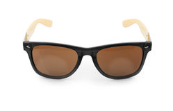 Óculos de sol isolados no fundo branco Fotografia de Stock Royalty Free