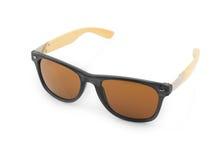 Óculos de sol isolados no fundo branco Fotos de Stock