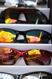 Óculos de sol para a venda Fotografia de Stock Royalty Free
