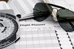 Óculos de sol piloto Foto de Stock Royalty Free