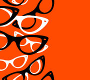 Óculos de sol retros do moderno do teste padrão ilustração do vetor