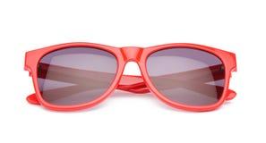 Óculos de sol vermelhos Fotografia de Stock Royalty Free