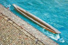 łódka drewniany Zdjęcie Stock
