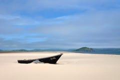 łódka drewniany Fotografia Stock