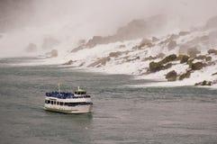 łódkowata Niagara rzeki siklawa Fotografia Royalty Free