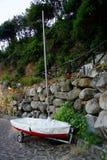 Łódkowata przyczepa Fotografia Stock