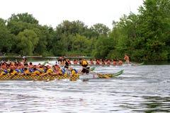 łódkowata smoka festiwalu rasa Zdjęcia Royalty Free