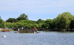 łódkowata smoka festiwalu rasa Obrazy Royalty Free