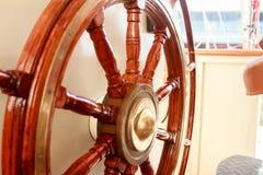 łódkowata stara kierownica Obrazy Royalty Free
