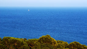 Łódkowata wycieczka na powierzchni Zdjęcia Royalty Free