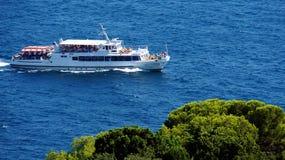 Łódkowata wycieczka na powierzchni Obraz Royalty Free