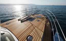 Łódkowata wycieczka na wysokich morzach Zdjęcia Royalty Free