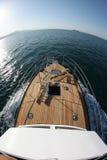 Łódkowata wycieczka na wysokich morzach Obrazy Royalty Free