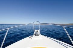 Łódkowata wycieczka turysyczna na morzu cortez, Meksyk Obraz Stock