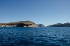Łódkowata wycieczka turysyczna na morzu cortez, Meksyk Obrazy Stock