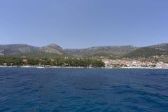 Łódkowata wycieczka w Chorwacja Fotografia Stock