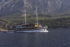Łódkowata wycieczka w Chorwacja Zdjęcia Stock