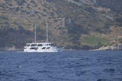 Łódkowata wycieczka w Chorwacja Zdjęcie Royalty Free