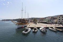 Łódkowata wycieczka w Chorwacja Obrazy Stock
