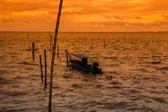 Łódkowata wycieczka z morzem Obraz Stock
